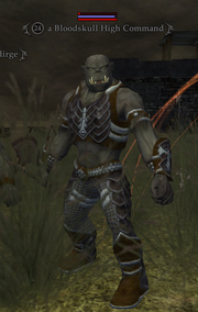 A Bloodskull High Command