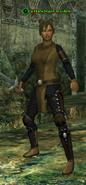 A Darkblade maiden (human)
