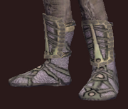 Naturewalker's Ashenwood Leather Boots (Equipped)