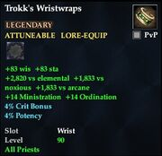 Trokk's Wristwraps