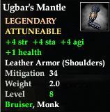 Ugbar's Mantle