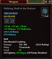 Walking Staff of the Robust