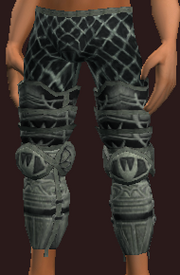 Wraithplate Greaves (Equipped)