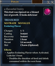 A flavorful berry