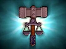 Deity symbol tribunal