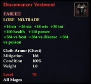 Dracomancer Vestment