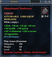Honorbound Vambraces
