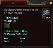 Opulent Cummerbund of the Brigade Stalker