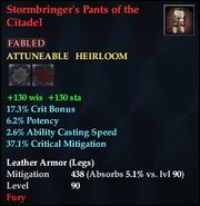 Stormbringer's Pants of the Citadel