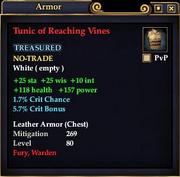 Tunic of Reaching Vines
