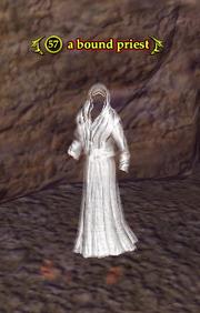 A bound priest