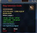 Deep Infernium Girdle