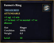 Farmer's Ring