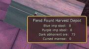 Fiend Fount Harvest Depot