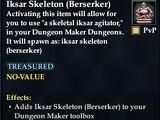 Iksar Skeleton (Berserker)