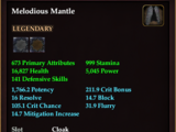 Melodious Mantle
