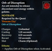 Orb of Disruption