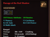 Passage of the Red Shadow