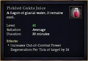 Pickled Gukta Juice