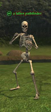 A fallen pathfinder