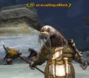 An assaulting ulthork