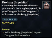 Drolvarg (Inquisitor)