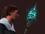 Rusty Illuminated Polearm