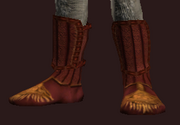 Seraphic Shoes of the Invoker (Equipped)