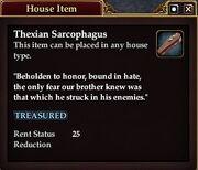 Thexian Sarcophagus