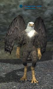 A Kragploom raptor
