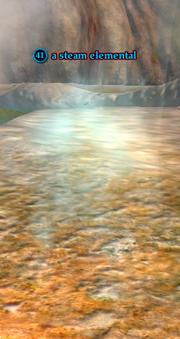 A steam elemental