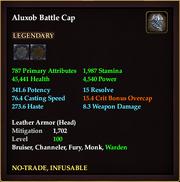 Aluxob Battle Cap
