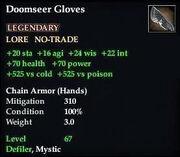 Doomseer Gloves