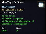 Mon'Tagorr's Stone