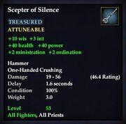 Scepter of Silence