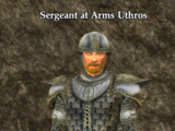 Sergeant at Arms Uthros