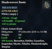 Shadewoven Boots