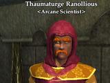 Thaumaturge Ranollious
