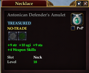 Antonican Defender's Amulet