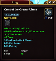 Crest of the Greater Ultera