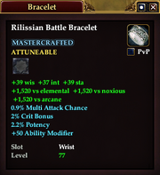 Rilissian Battle Bracelet