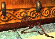 Shackled elf skeleton (Visible)