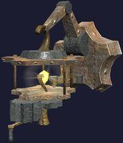 Tinkerer's Mechanokinetic Sconce (Visible)