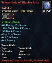 Towershield of Elusive Mist