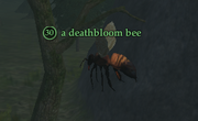 A deathbloom bee