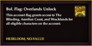 BoL Flag Overlands Unlock