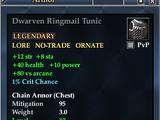 Dwarven Ringmail Tunic