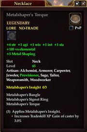 Metalshaper's Torque