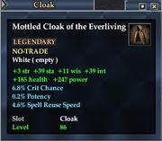 Mottled Cloak of the Everliving