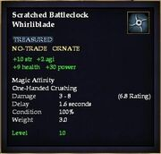 Scratched Battleclock Whirliblade